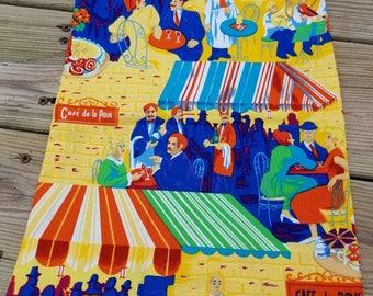 Cafe Paris Reusable Fabric Gift Bags (Medium)