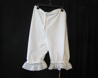 Bloomers (small-med), pantalettes, drawers, stage costume, cosplay, knickers. historical, wagon train, trek, pioneer, plus size, B16