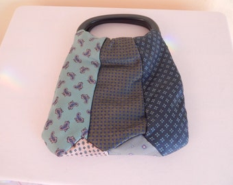 mens tie purse handmade