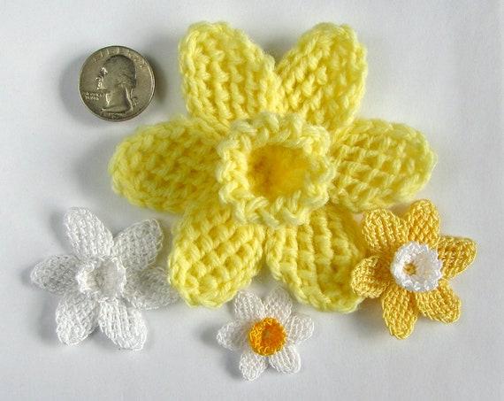 Crochet Flower PATTERN Instant Download PDF Pattern Tunisian Crochet ...