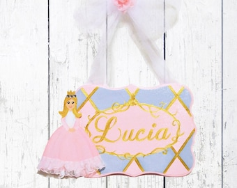 Personalized Girls Princess Name Sign