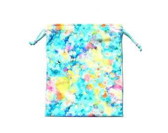 NEW Swimsuit Wet Dry Bag Waterproof - Pastel Confetti - Medium