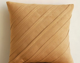 Decorative Pillow Sham Covers Couch Pillow Sofa Pillow 24 Inch Suede Pillow Sham Cover Home And Living Decor - Contemporary Tan