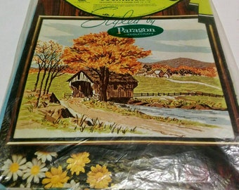 Vintage Countryside Crewel Embroidery Kit