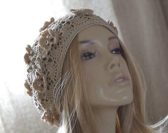 Summer beret Womens hats Womens summer hats Crochet hat women Summer hats women Summer hat Womens hats summer