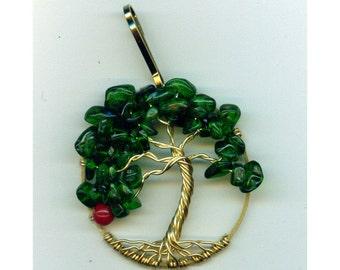 Giving Tree Purse Charm/ Zipper Pull