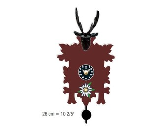 Black Forest avant-garde Cuckoo clock 12 melody Cuckoo call CuckooClocks motif 22