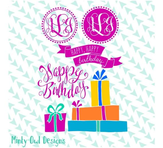 birthday card frame download