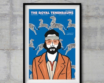 The Royal Tenenbaums - Richie Poster - Original Illustration