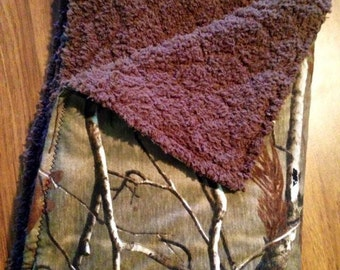 Custom Camo Baby Blanket