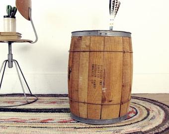 Wooden Barrel,waste Bin,wood Crate,waste Basket,storage Bin,nail