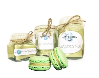 Macaroon Scented Soy Candle
