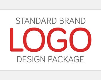 Custom Standard LOGO Branding Package | Watermark Branding Board Business Card Social Media Header & More | Business Identity Graphic Design