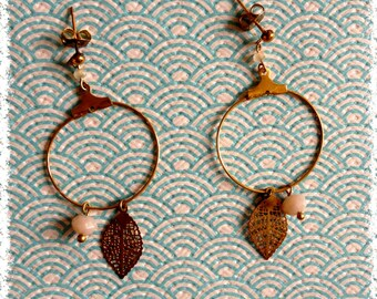 """Golden hoops """"a fall afternoon"""""""