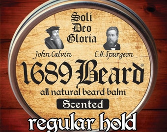 1689 Beard Balm (2oz can)- Regular Hold