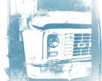 Truck in Blue