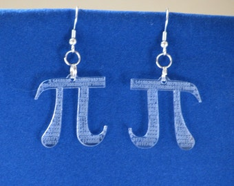 Pi Earrings 2