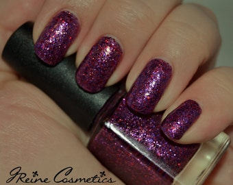 Chalmation (Discontinuing) - Purple Pink Glitter Nail Polish