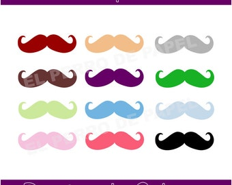 Moustache ClipArts