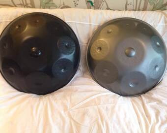 USA 9, 8 and 7 Note Handpans in D, F and G Minor + Bag + Protective Cover