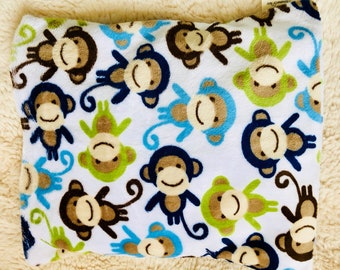 Microwavable Heating Pad: Cozy Monkey