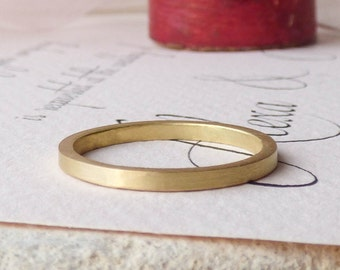 Nanna 18ct Fairtrade Gold Ethical Women's Wedding Ring