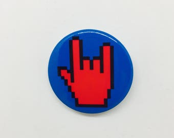 Rock and Roll - badge 37mm