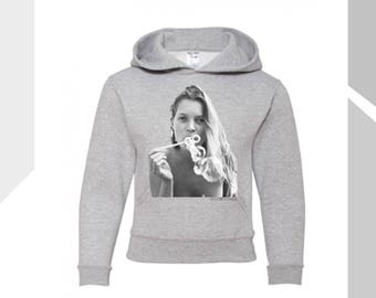 Kids Kate Moss Bubbles Hooded Sweatshirt