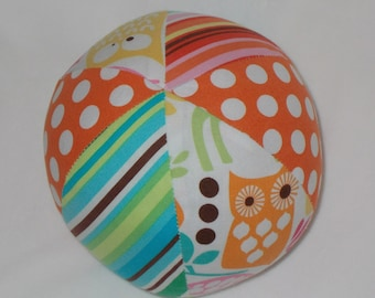 Watermelon Forest Life Fabric Boutique Ball Rattle Toy