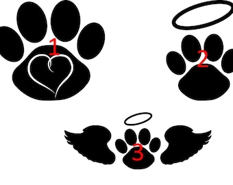Pet Memorial Decals