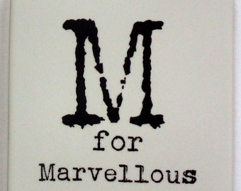 M for Marvellous Coaster