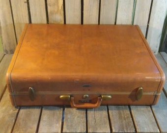 Vintage Samsonite Suitcase, Wornout Suitcase, Distressed Suitcase