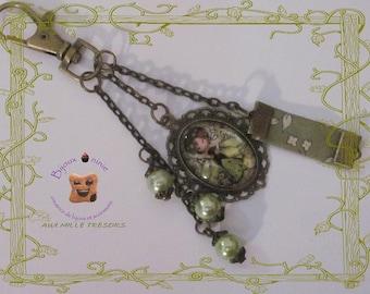Jewelry bag little green fairy