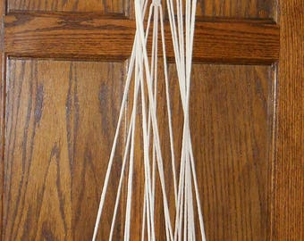 Modern Macrame Plant Hanger ~ Macrame Driftwood Medium Plant Hanger ~No Pots Included