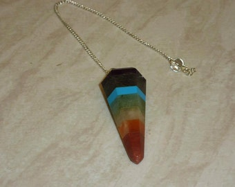 Crystal Chakra Pendulum
