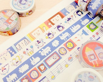 Yohand Washi Tape - Full Set of 5 - Version 3