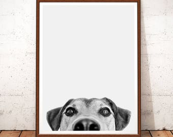 Superb Dog Print, Dog Photo, Dog Printable Art, Dog Decor, Nursery Decor Boy, Dog  Wall Art Decor, Nursery Animals, Black And White, Dog Prints