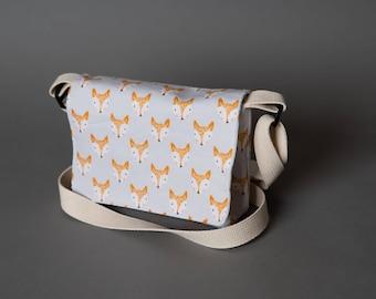 Mini Messenger bag Fox Messenger bag, Mini Fox Messenger bag, Fox Purse, Purse, Fox, Fox Bag, Small Messenger bag, Birthday Gift Cell Phone