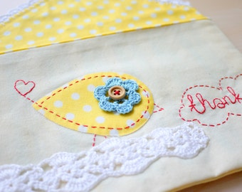 Whimsical Envelope Pouch