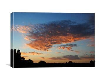 The Dawn Sky canvas print