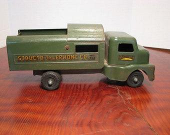 Vintage Structo Telephone Co. Utility Truck