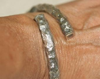 Bangle Cuff Bracelets, Solid Silver Bracelet, Handmade Silver Bracelet, Silver Cuff Bangles, Stacking Bangles, Sculptured Silver Bangle