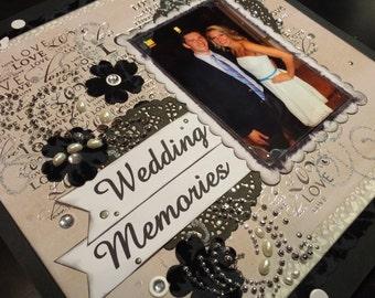 Personalized Wedding Scrapbook Album