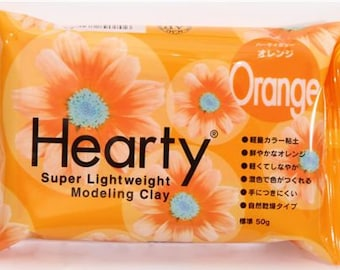 45064 orange Hearty clay super lightweight from Japan