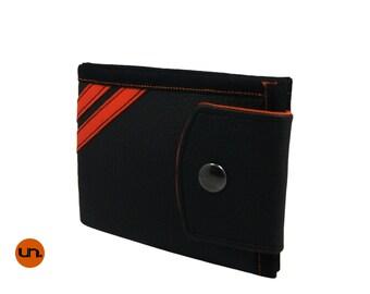 Minimalist, Handmade Personalized Wallet, Vegan Friendly, Vegan Leather Wallet, Billfold, Bifold, Mens Wallet, Womens Wallet, UNUSUAL