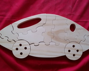Voiture Funny Puzzle