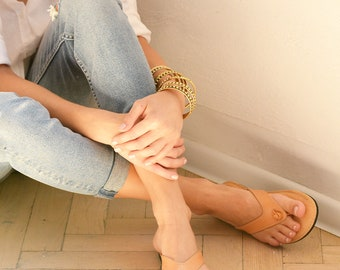 Leather sandals SO shoes- no 323