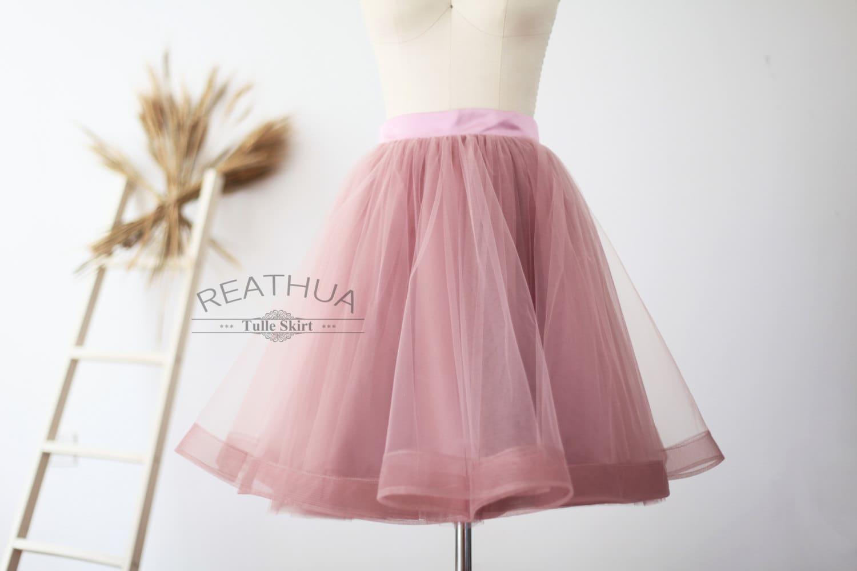 pink tulle dress women