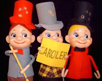 Christmas Caroler Dolls Figurines Holiday Decor Decorations