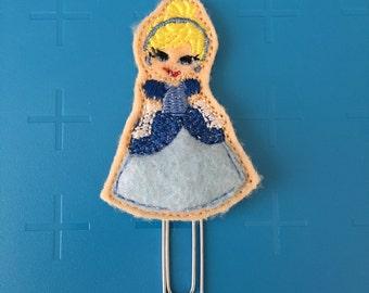 Glass Slipper Princess Planner Clip